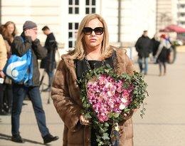 Pogrzeb Zofii Czerwińskiej: Joanna Kurowska