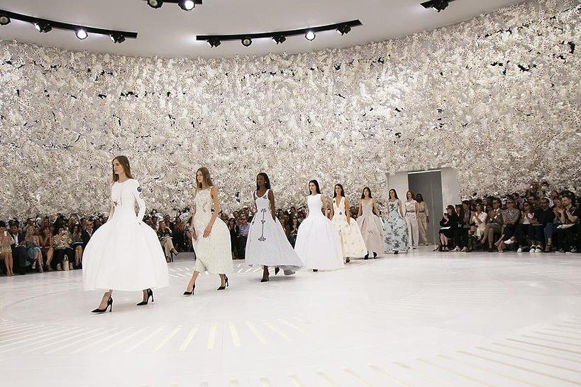 Pokaz Dior Haute Couture jesień-zima 2014-15