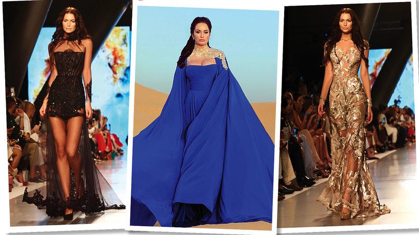 Pokaz kolekcji Sylwii Romaniuk na Arab Fashion Week