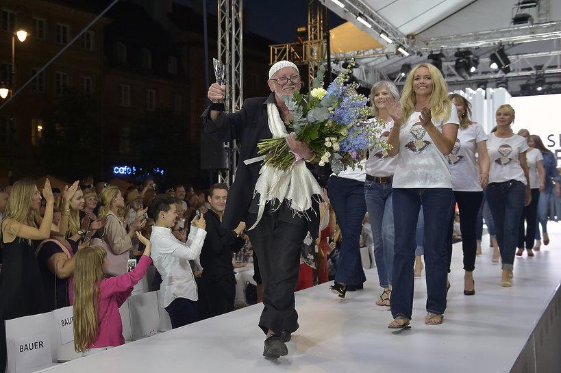 Pokaz modelek Mody Polskiej dla Jerzego Antkowiaka