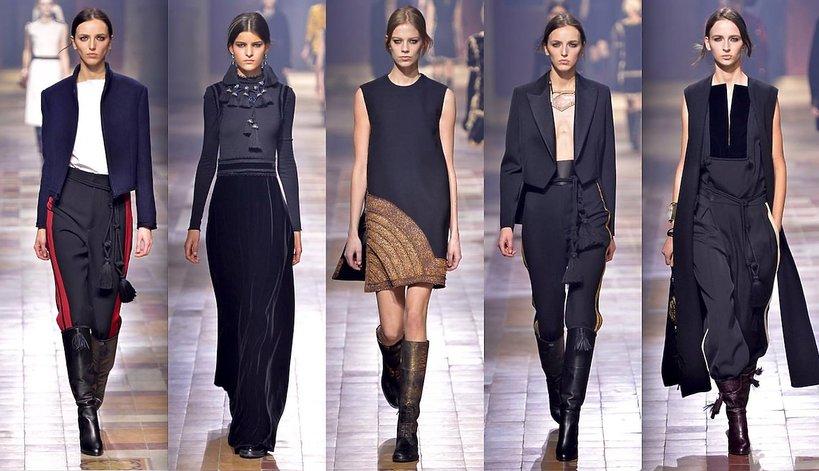 Pokaz mody Lanvin jesień-zima 2015-16