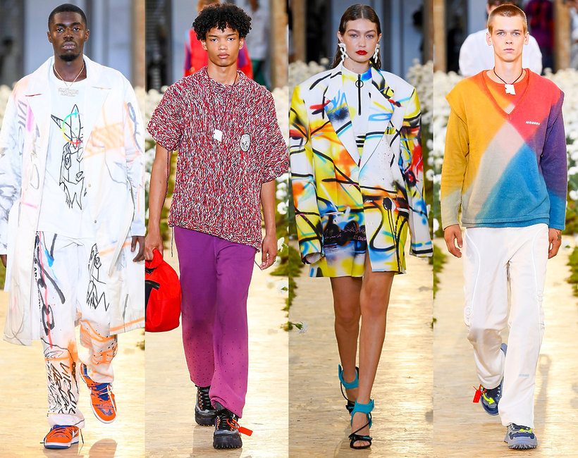 pokaz mody Off-White, Paris Fashion Week Men's, spring summer 2020