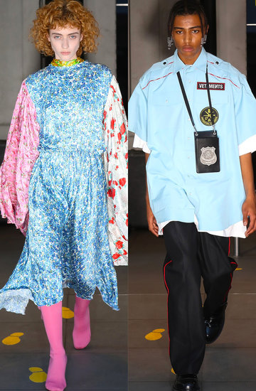 pokaz mody, Vetements Menswear Spring Summer 2020, Paris Fashion Week