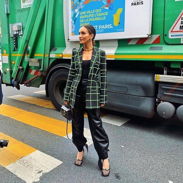 Polki na tygodniu mody w Paryżu SS 2020, Marina Łuczenko-Szczęsna