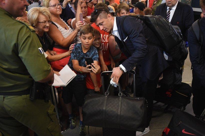 polscy piłkarze, mundial 2018, Robert Lewandowski, kibice