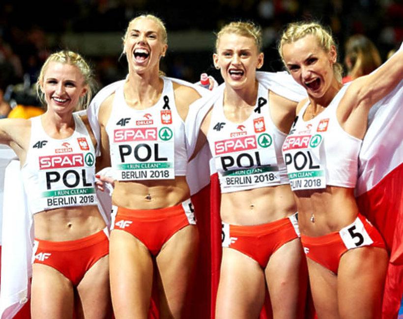polska sztafeta, złoty medal, Mistrzostwa Europy w Lekkoatletyce, Berlin 2018