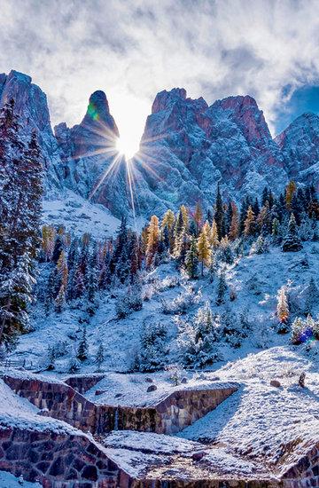 Południowy Tyrol, góry