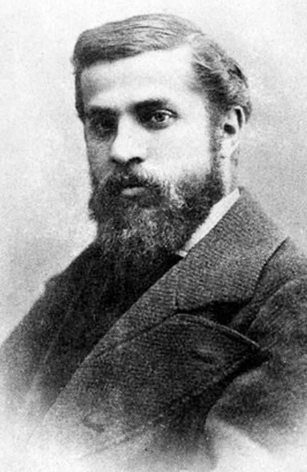 Portret Antinio Gaudiego