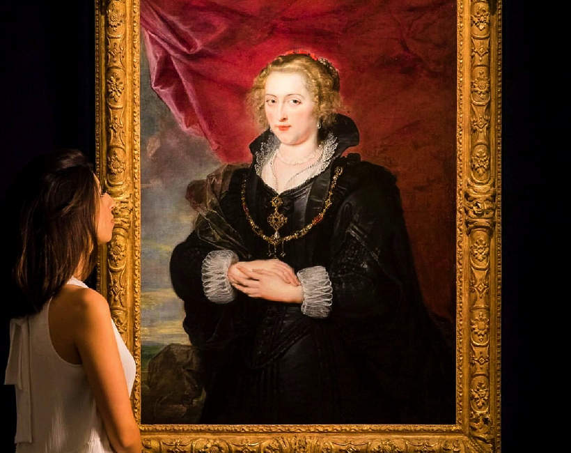 Portret Damy Peter Paul Rubens