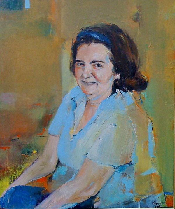 Portret matki Basi Trzetrzelewskiej