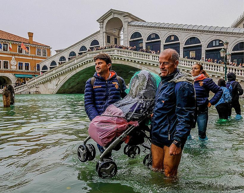Powódź w Wenecji 2018