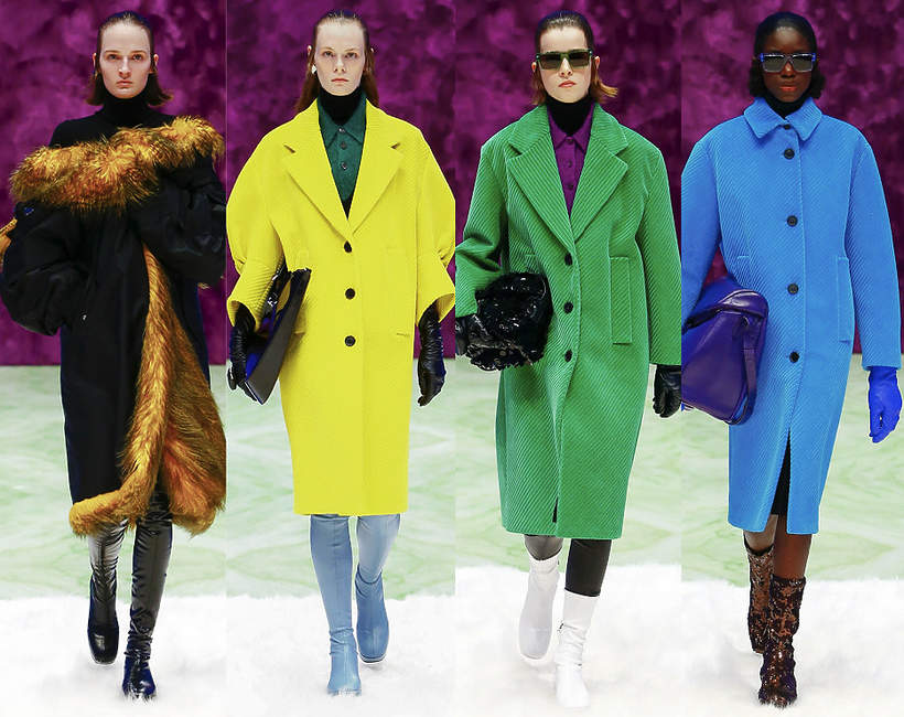 Prada pokaz mody w Mediolanie 2021