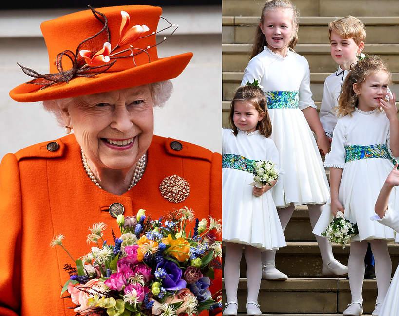 Prawnuki królowej Elżbiety II