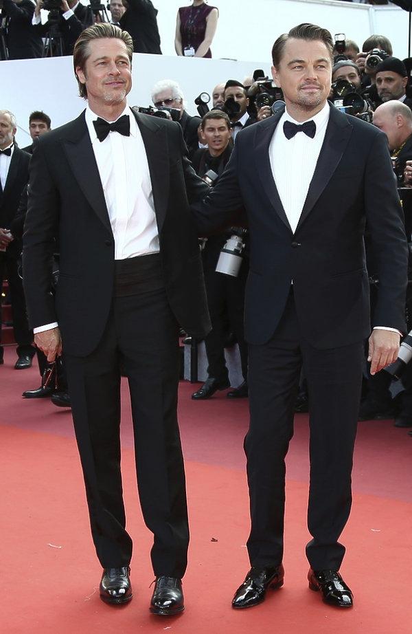 Premiera filmu Once upon a time in Hollywood w Cannes 2019: Brad Pitt i Leonardo DiCaprio