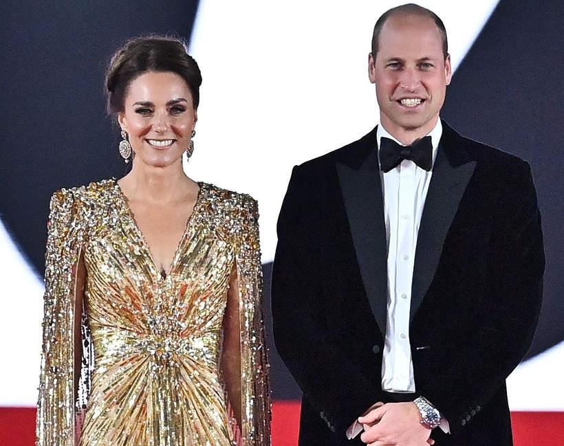 Premiera Jamesa Bonda 2021: Księżna Kate, książę William