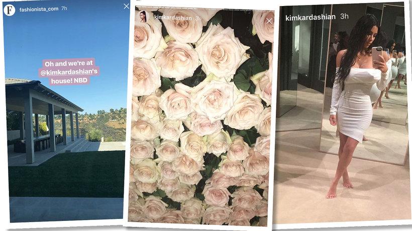 Premiera linii kosmetyków KKW Beauty odbyła się w domu Kim Kardashian i Kanye Westa w Los Angeles