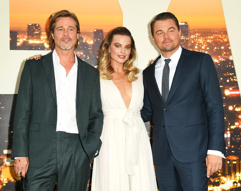 premiera Once Upon a Time in Hollywood, Brad Pitt, Margot Robbie, Leonardo DiCaprio