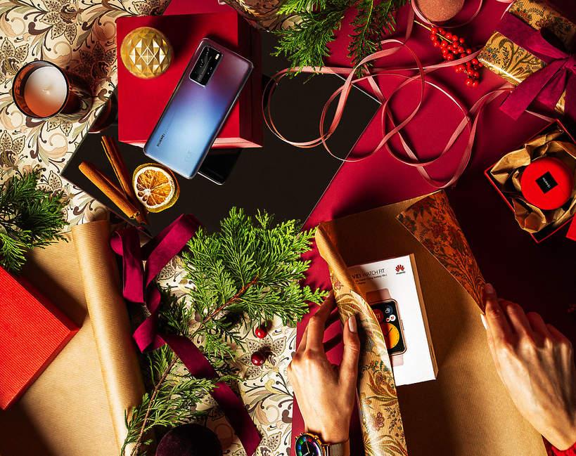 Prezenty świąteczne Huawei