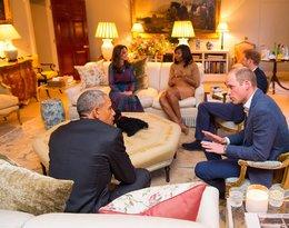 Prezydent Obama z wizytą w Kensington Palace
