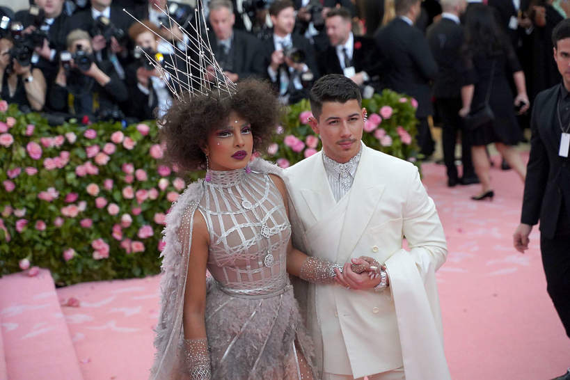 Priyanka Chopra i Nick Jonas, MET