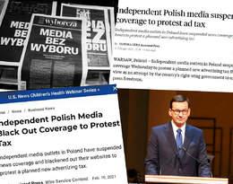 Media bez wyboru. Światowe media komentują protesty w Polsce!