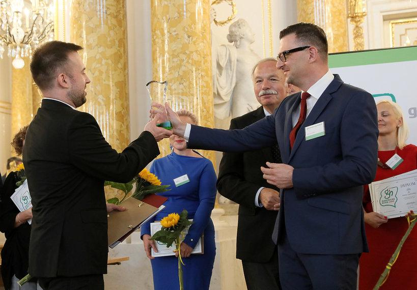 Przemysław Staroń, gala Nauczyciel Roku