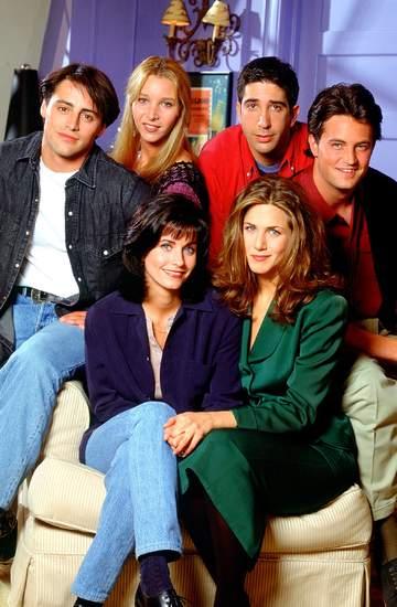 Przyjaciele,Friends, Matt LeBlanc, Lisa Kudrow, David Schwimmer, Matthew Perry, Courteney Cox, Jennifer Aniston, 1994