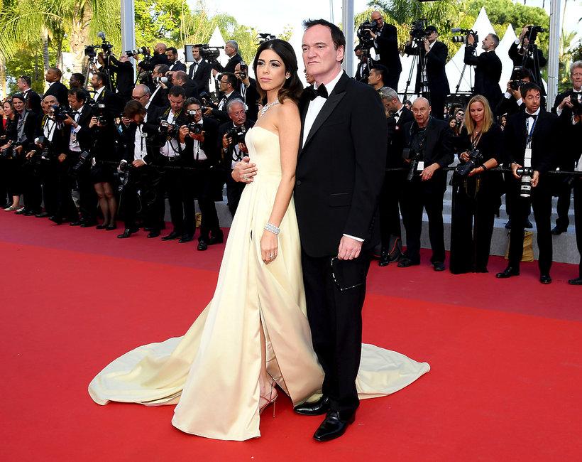 Quentin Tarantino i Daniella Tarantino, Cannes 2019, zakończenie