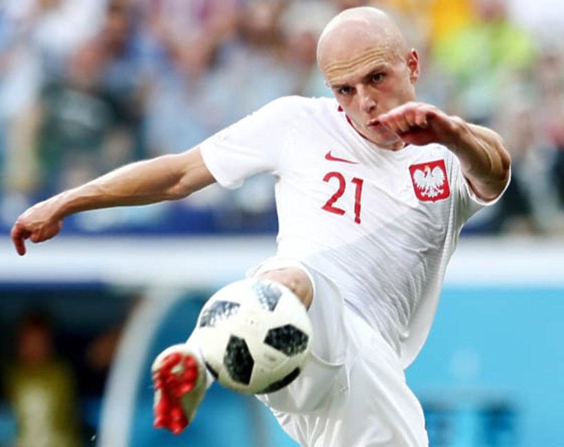 Rafał Kurzawa, mecz Polska-Japonia, Mundial 2018