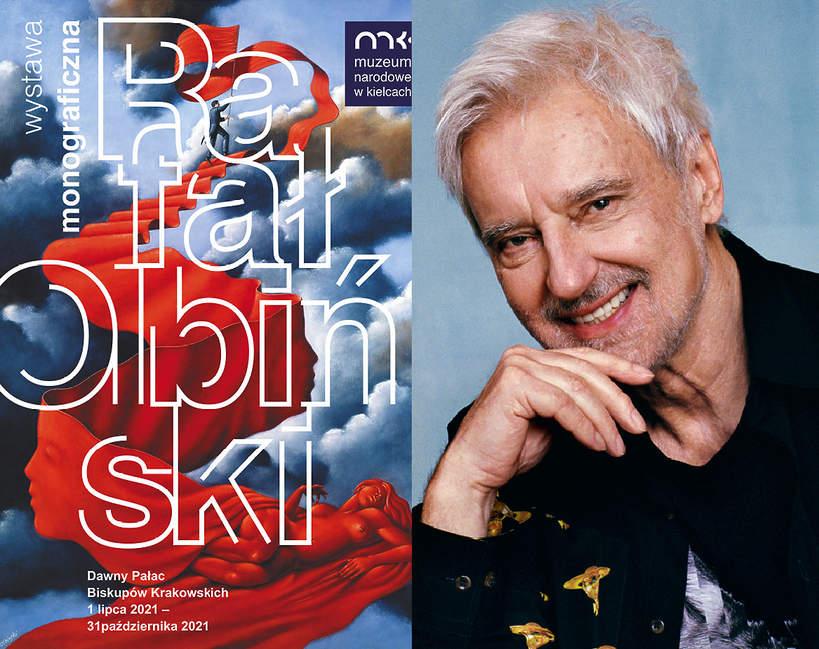 Rafał Olbiński portret