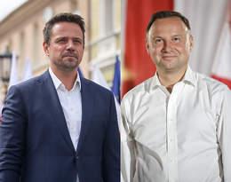 Tak wyglądały wieczory wyborcze Andrzeja Dudy i Rafała Trzaskowskiego!