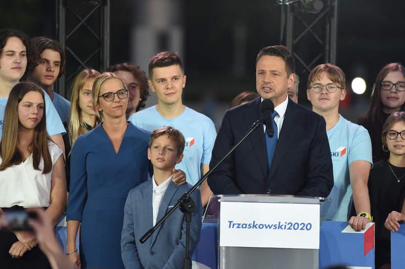 Rafał Trzaskowski, Andrzej Duda