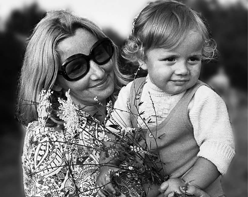 Rafał Trzaskowski z mamą, Teresa Trzaskowska