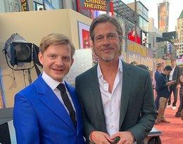 Rafał Zawierucha, premiera Dawno temu w Hollywood, Brad Pitt