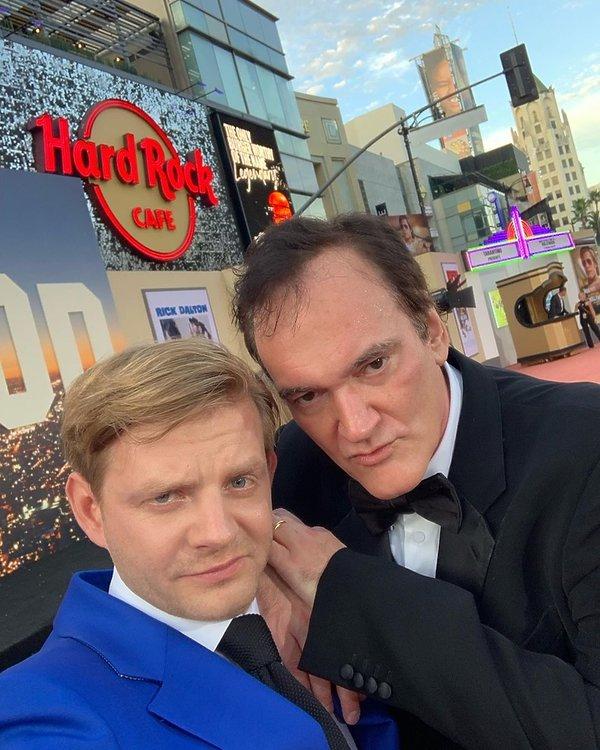 Rafał Zawierucha, premiera Dawno temu w Hollywood, Quentin Tarantino