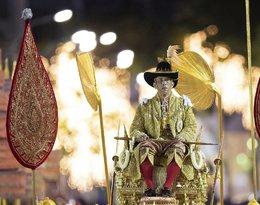 Rama X, król Tajlandii, koronacja