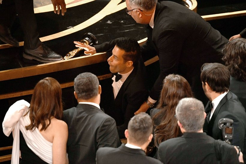 Rami Malek upadek, Oscary 2019 ciekawostki