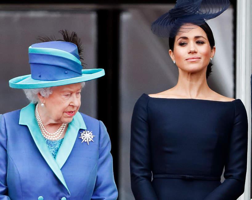 Reakcja Elżbiety II na ciążę księżnej Meghan