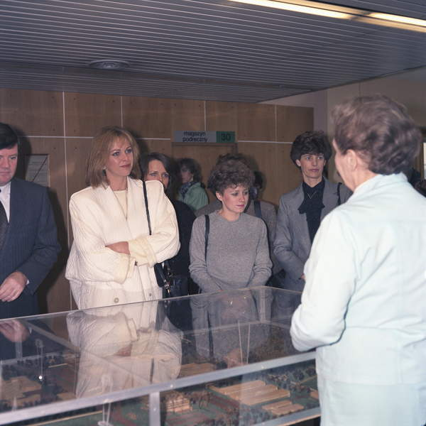 Rebecca Gilling podczas podróży do Polski, 1986 rok