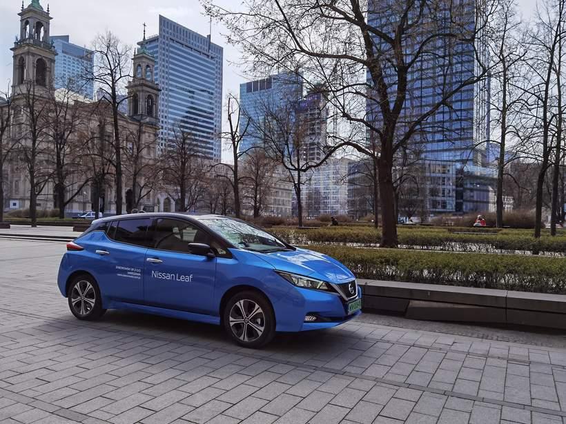 Redakcja testuje Nissana Leaf