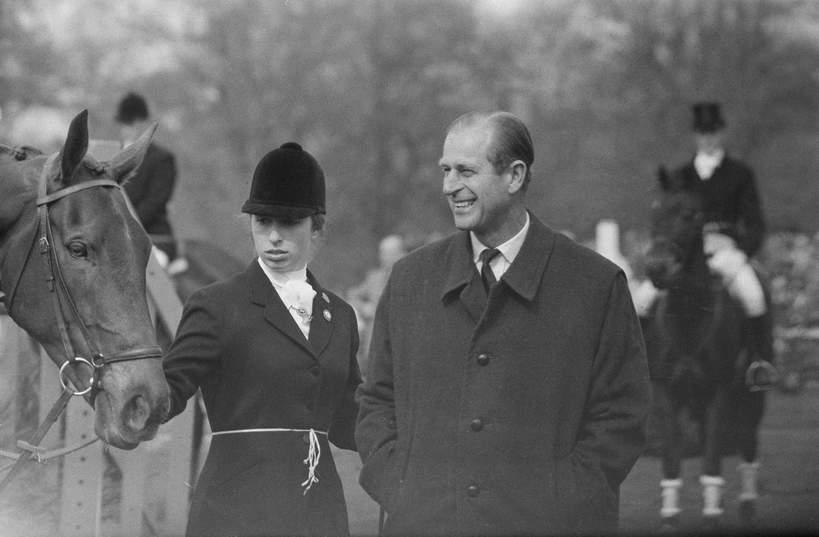 Relacja księcia Filipa i księżniczki Anny