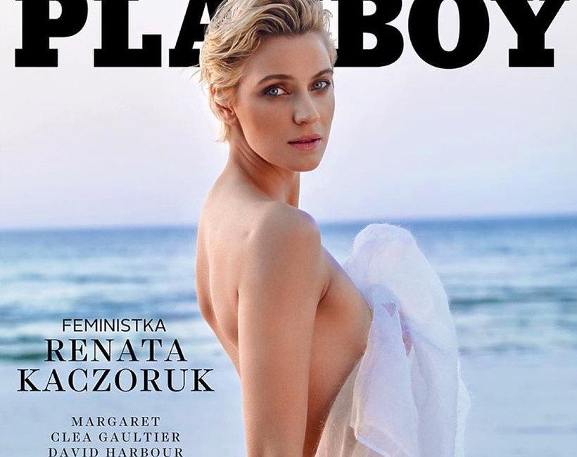 """Renata Kaczoruk, okładka """"Playboy"""""""