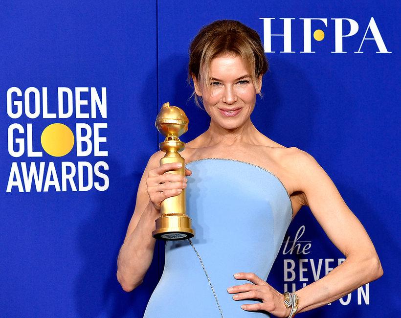 Renee Zellweger, Złote Globy 2020
