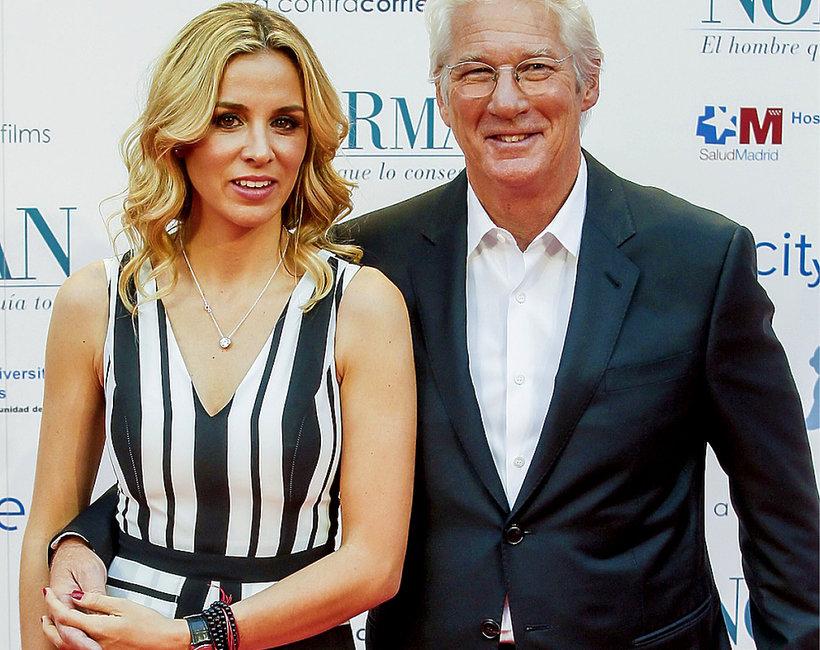 Richard Gere wziął ślub,  Alejandra Silva