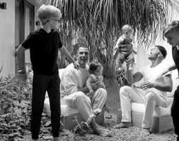 Ricky Martin z mężem i dziećmi