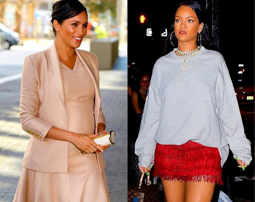 Rihanna, księżna Meghan