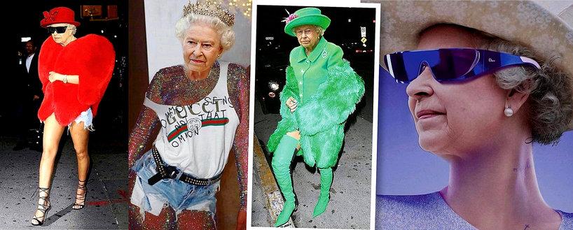 Rihanna przerobiła zdjęcia Królowej Elżbiety II