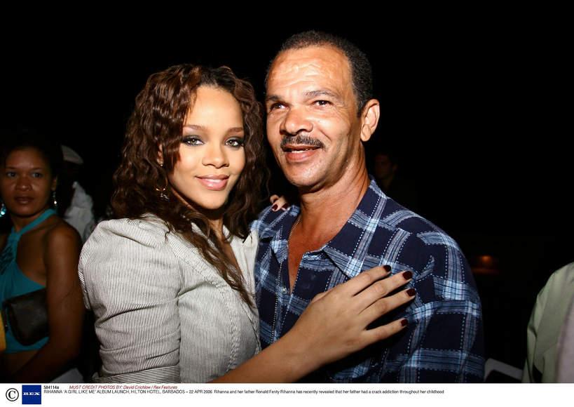 Rihanna z ojcem, Ronald Fenty