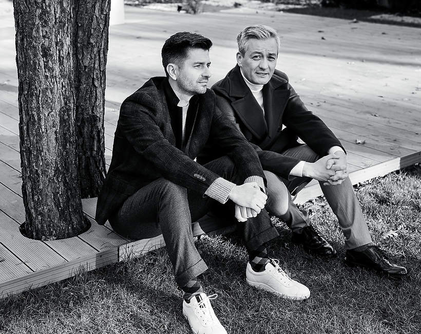 Robert Biedroń i Krzysztof Śmiszek, VIVA! listopad 2017