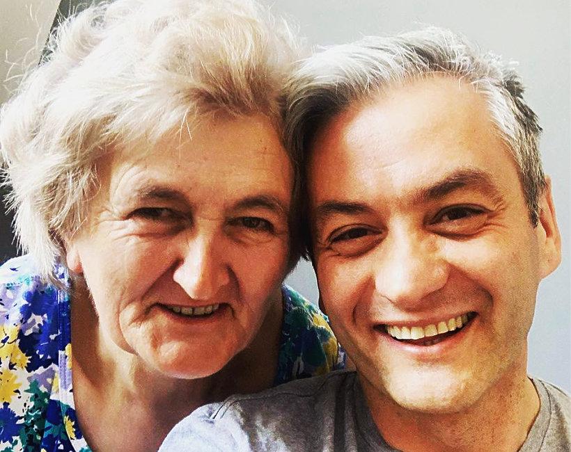 Robert Biedroń z mamą